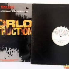 Discos de vinilo: AFRIKA BAMBAATAA 2 PIEZAS.. Lote 96369611