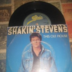 Discos de vinilo: SHAKIN' STEVENS THIS OLE HOUSE. LET ME SHOW YOU HOW(. EPIC 1981) OG ENGLAND .. Lote 96371563