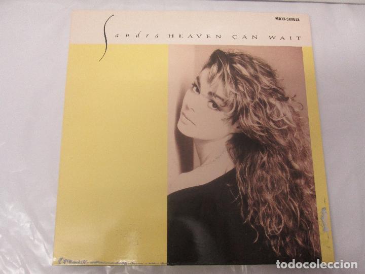 Discos de vinilo: SANDRA: STOP FOR A MINUTE. INTO A SECRET LAND. PAINTINGS IN YELOW. HEAVEN CAN WAIT. 4 LP VINILO - Foto 2 - 96383531