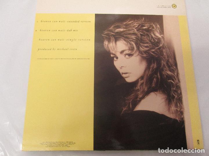 Discos de vinilo: SANDRA: STOP FOR A MINUTE. INTO A SECRET LAND. PAINTINGS IN YELOW. HEAVEN CAN WAIT. 4 LP VINILO - Foto 7 - 96383531