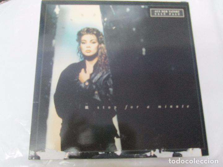 Discos de vinilo: SANDRA: STOP FOR A MINUTE. INTO A SECRET LAND. PAINTINGS IN YELOW. HEAVEN CAN WAIT. 4 LP VINILO - Foto 14 - 96383531