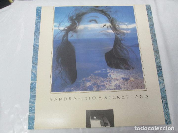 Discos de vinilo: SANDRA: STOP FOR A MINUTE. INTO A SECRET LAND. PAINTINGS IN YELOW. HEAVEN CAN WAIT. 4 LP VINILO - Foto 20 - 96383531