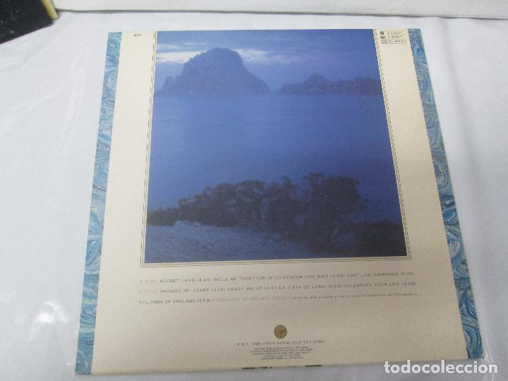Discos de vinilo: SANDRA: STOP FOR A MINUTE. INTO A SECRET LAND. PAINTINGS IN YELOW. HEAVEN CAN WAIT. 4 LP VINILO - Foto 25 - 96383531