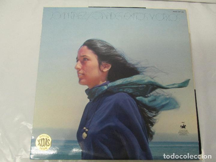 Discos de vinilo: JOAN BAEZ. RECENTLY. SPEAKING OF DREAMS. GRANDES EXITOS Y OTROS. 3 LP VINILO. VER FOTOS - Foto 2 - 96384639