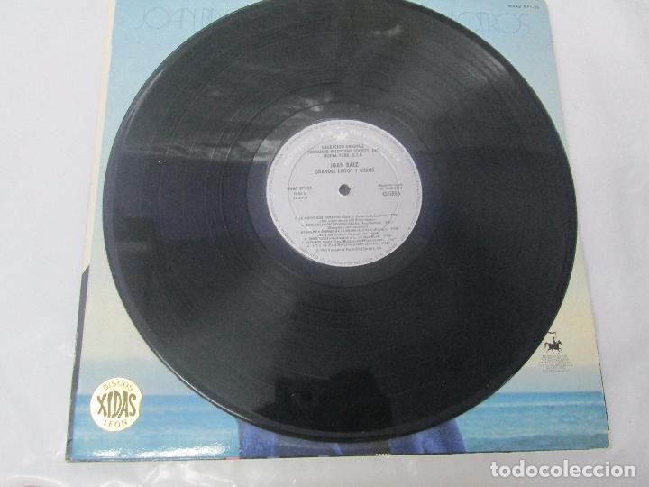 Discos de vinilo: JOAN BAEZ. RECENTLY. SPEAKING OF DREAMS. GRANDES EXITOS Y OTROS. 3 LP VINILO. VER FOTOS - Foto 3 - 96384639