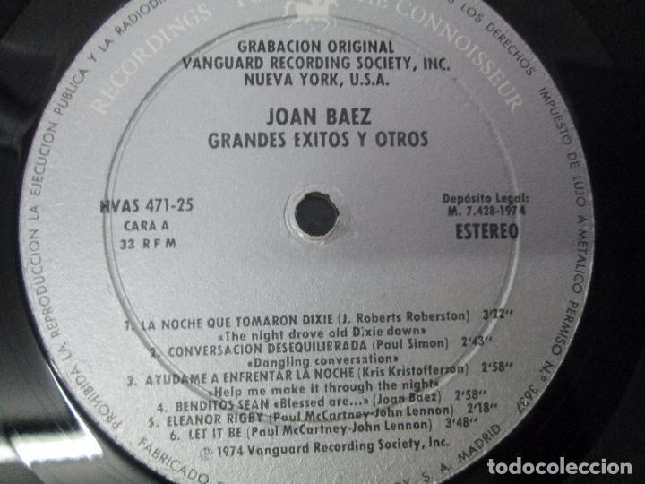 Discos de vinilo: JOAN BAEZ. RECENTLY. SPEAKING OF DREAMS. GRANDES EXITOS Y OTROS. 3 LP VINILO. VER FOTOS - Foto 4 - 96384639