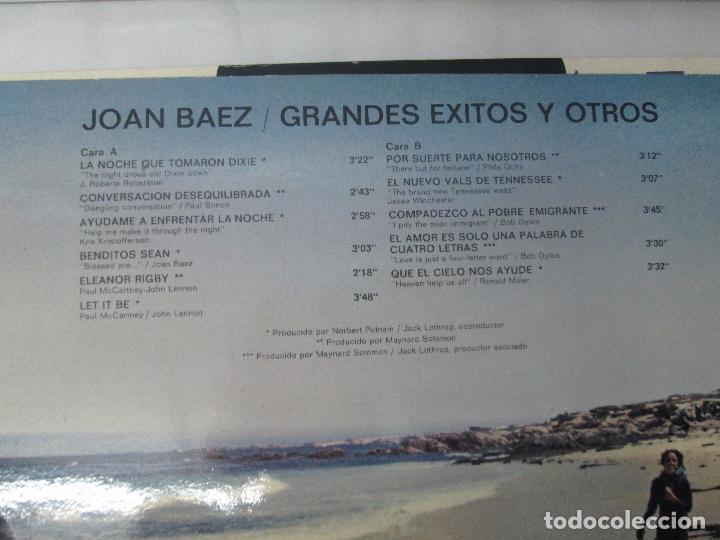 Discos de vinilo: JOAN BAEZ. RECENTLY. SPEAKING OF DREAMS. GRANDES EXITOS Y OTROS. 3 LP VINILO. VER FOTOS - Foto 7 - 96384639