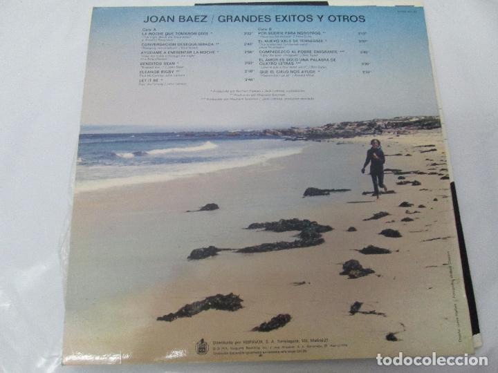 Discos de vinilo: JOAN BAEZ. RECENTLY. SPEAKING OF DREAMS. GRANDES EXITOS Y OTROS. 3 LP VINILO. VER FOTOS - Foto 8 - 96384639