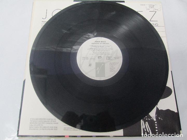 Discos de vinilo: JOAN BAEZ. RECENTLY. SPEAKING OF DREAMS. GRANDES EXITOS Y OTROS. 3 LP VINILO. VER FOTOS - Foto 10 - 96384639