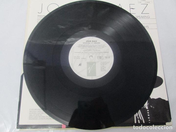 Discos de vinilo: JOAN BAEZ. RECENTLY. SPEAKING OF DREAMS. GRANDES EXITOS Y OTROS. 3 LP VINILO. VER FOTOS - Foto 12 - 96384639