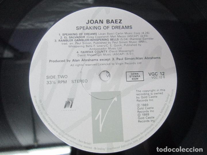 Discos de vinilo: JOAN BAEZ. RECENTLY. SPEAKING OF DREAMS. GRANDES EXITOS Y OTROS. 3 LP VINILO. VER FOTOS - Foto 13 - 96384639