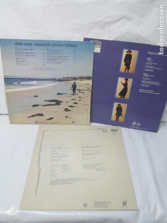 Discos de vinilo: JOAN BAEZ. RECENTLY. SPEAKING OF DREAMS. GRANDES EXITOS Y OTROS. 3 LP VINILO. VER FOTOS - Foto 22 - 96384639