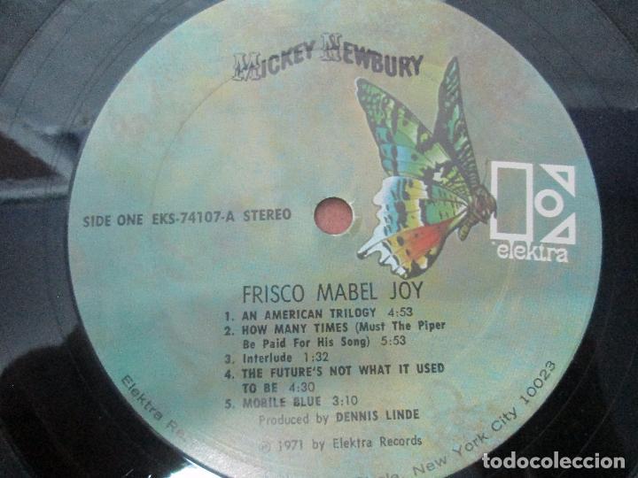 Discos de vinilo: MICKEY NEEWBURY. FRISCO MABEL JOY. ELEKTRA 1971. VER FOTOGRAFIAS ADJUNTAS - Foto 4 - 96387503