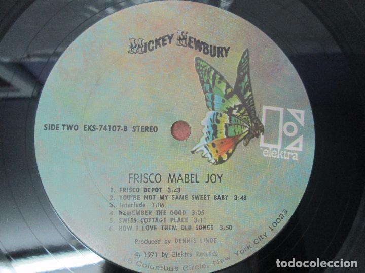 Discos de vinilo: MICKEY NEEWBURY. FRISCO MABEL JOY. ELEKTRA 1971. VER FOTOGRAFIAS ADJUNTAS - Foto 6 - 96387503