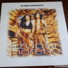 Discos de vinilo: AZUCAR MORENO - HAVA - NAGUILA - MAXI SINGLE.12 - 1997. Lote 96408279