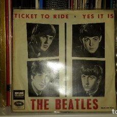 Discos de vinilo: BEATLES - TICKET TO RIDE. Lote 91621445