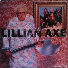 Discos de vinilo: LILLIAN AXE. POETIC JUSTICE. MUSIC FOR NATIONS, FRANCE 1992 LP + ENCARTE MFN-131. Lote 96418923