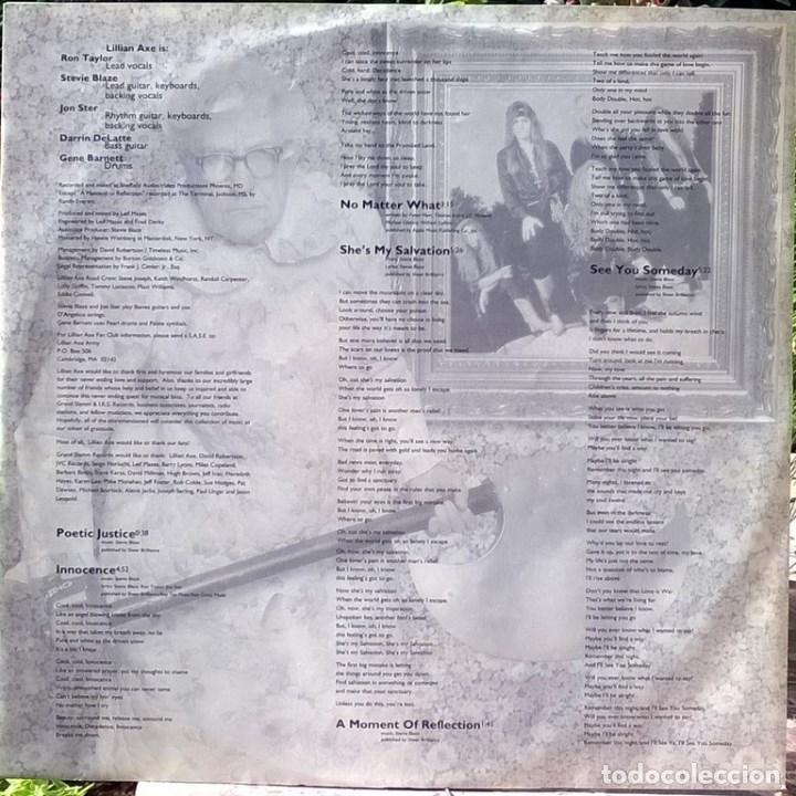 Discos de vinilo: Lillian Axe. Poetic justice. Music for Nations, France 1992 LP + encarte MFN-131 - Foto 4 - 96418923