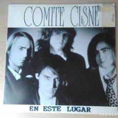 Discos de vinilo: COMITE CISNE_EN ESTE LUGAR_COMO ARENA EN EL RELOJ_REVOLVER_CARLOS GOÑI_7 SINGLE SPAIN_1991. Lote 96429951