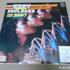 Discos de vinilo: EDDIE AND THE SOULBAND (MX) THEME FROM SHAFT +3 TRACKS AÑO 1985. Lote 96430123