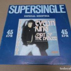Discos de vinilo: EVELYN KING (MX) SPIRIT OF THE DANCER +1 TRACK AÑO 1981. Lote 96430983