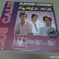 Discos de vinilo: CALIS, LOS (MX) PLATANO MADURO +2 TRACKS AÑO 1988. Lote 96432883