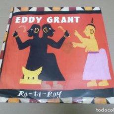 Discos de vinilo: EDDY GRANT (MX) RA-TI-RAY +3 TRACKS AÑO 1993 – EDICION U.K.. Lote 96433763
