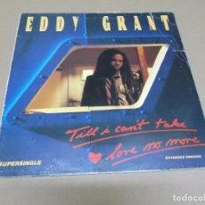 Discos de vinilo: EDDY GRANT (MX) TILL I CAN'T TAKE LOVE NO MORE +1 TRACK AÑO 1983. Lote 96433907
