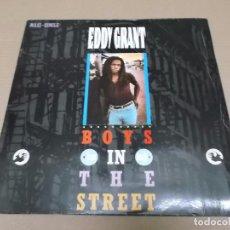 Discos de vinilo: EDDY GRANT (MX) BOYS IN THE STREET +2 TRACKS AÑO 1984. Lote 96433971