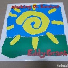 Discos de vinilo: EDDY GRANT (MX) WALKING ON SUNSHINE +3 TRACKS AÑO 1989 – EDICION U.K.. Lote 96434063