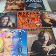 Discos de vinilo: LOTE DE 7 LPS DE LUIS COBOS, VER FOTOS, BUEN ESTADO. Lote 96438911