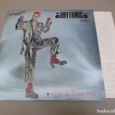 Dischi in vinile: EURYTHMICS (MX) RIGHT BY YOUR SIDE +2 TRACKS AÑO 1983 – PROMOCIONAL + HOJA PROMOCIONAL. Lote 96439695