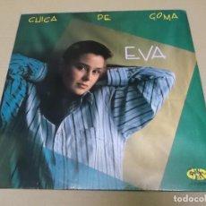 Discos de vinilo: EVA (MX) CHICA DE GOMA +1 TRACK AÑO 1988. Lote 96440467