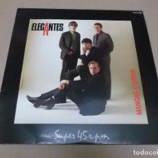 Discos de vinilo: LOS ELEGANTES (MX) MANGAS CORTAS +2 TRACKS AÑO 1984. Lote 96440675
