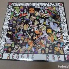 Discos de vinilo: ESTADO CRITICO (MX) REGGAE RAP +1 TRACK AÑO 1991. Lote 96441551