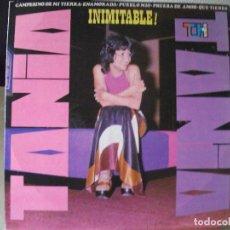 Discos de vinilo: LP DE TANIA, INIMITABLE !! (AÑO 1973, EDICIÓN VENEZOLANA, THS-1100). Lote 96442651