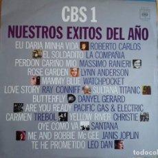Discos de vinil: LP - CBS 1-NUESTROS EXITOS DEL AÑO - VARIOS (SPAIN, CBS 1971). Lote 96448147