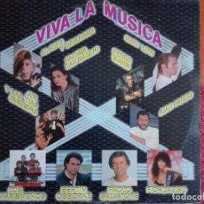 Discos de vinilo: LP - VIVA LA MUSICA - VARIOS (SPAIN, HISPAVOX 1985). Lote 96449667