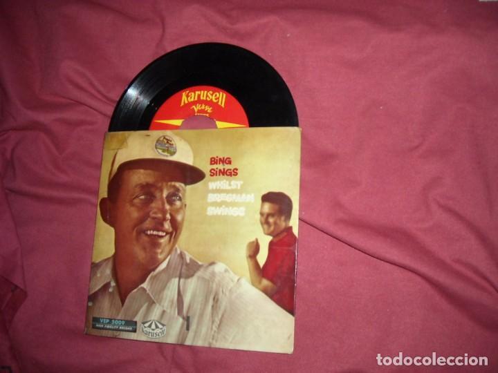 BING SINGS EP AÑOS 50 VER FOTO ADICIONAL TEMAS (Música - Discos de Vinilo - EPs - Pop - Rock Internacional de los 50 y 60)