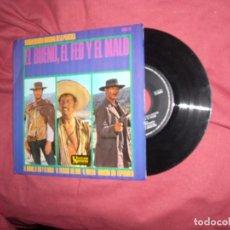 Discos de vinilo: ENNIO MORRICONE EP– BANDA SONORA ORIGINAL DE LA PELICULA EL BUENO, EL FEO Y EL MALO - SPA 1967. Lote 154706630