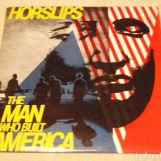 Discos de vinilo: THE MAN WHO BUILT AMERICA ( HORSLIPS ) 1979-ENGLAND LP33 RECORDS AND TAPES. Lote 96452155
