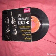 Discos de vinilo: LAS HERMANAS KESSLER - Y LA HISTORIA CONTINUA +3 - EP POLYDOR SPA 1964. Lote 96452371