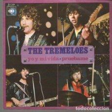 Discos de vinilo: THE TREMELOES SINGLE SELLO CBS AÑO 1970 EDITADO EN ESPAÑA. Lote 96456195