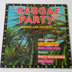 Discos de vinilo: SUNSPLASH PROJECT- REGGAE PARTY . Lote 96459194