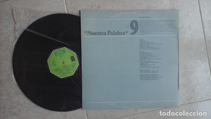 Discos de vinilo: NICOLÁS GUILLÉN - NUESTRA PALABRA, POEMAS - LP VINILO - Foto 2 - 96475611