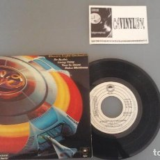 Discos de vinilo: ELECTRIC LIGHT ORCHESTRA ?– EP PROMO - LIVIN' THING /TURN TO STONE/SWEET TALKIN' WOMAN / IT'S OVER . Lote 96476179