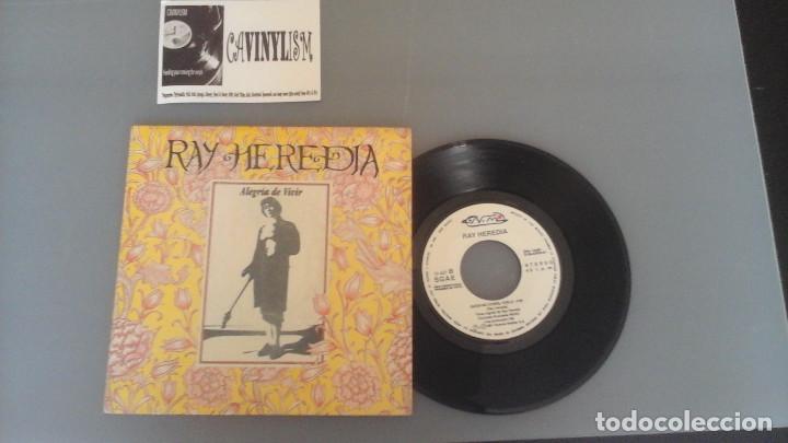 RAY HEREDIA ?– ALEGRÍA DE VIVIR / QUIEN NO CORRE VUELA SINGLE NUEVOS MEDIOS ?– 10-437 (Música - Discos - Singles Vinilo - Flamenco, Canción española y Cuplé)