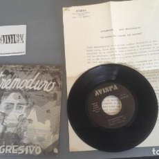 Discos de vinilo: EXTREMODURO ?– EXTREMAYDURA SINGLE AVISPA ?– AS-005 + PRESS KIT. Lote 96481191