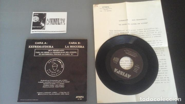 Discos de vinilo: Extremoduro ?– Extremaydura Single Avispa ?– AS-005 + Press Kit - Foto 2 - 96481191