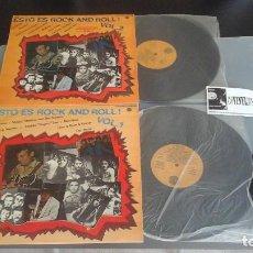 Discos de vinilo: ESTO ES ROCK AND ROLL VOL. 1 Y VOL 2. (2XLP) . GRABACIONES ORIGINALES DE LA BBC. Lote 96486443